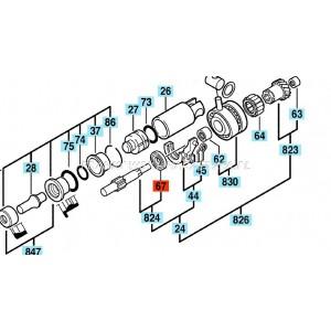 Przewód zasilający 2x1,5mm2, długość 4,1m, H05RR-F gumowy do elektronarzędi