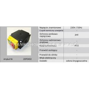 Wyłącznik wiertarki FA2-6/1BEK, 6A 250V, klawisz 19,8x45mm do TDW850
