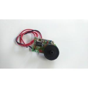 Wyłącznik do odkurzacza nacisk L4.1H.8, łączenie ON-OFF, wym, 13x19mm, 10A /250V