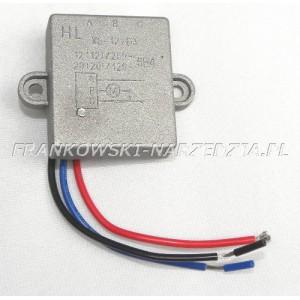 Elektronika - rozruch do szlifierki 12A, XS-12/D3, W-311