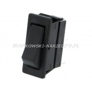 Wyłącznik klawiszowy prostowniki,rozruchy C1510AL, 2-pozycyjne, ON-ON, 16A/250VAC, wymiary otworu montażowego, 30x11mm