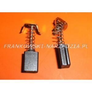 Szczotki węglowe 6x9x12 zaczepy (pazaurki) 2xfrez (1kpl)