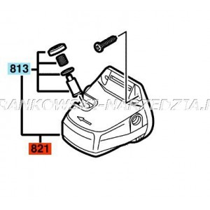 Bosch Głowica przekładni 1605806480 część oryginalna