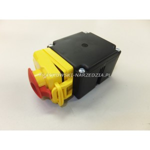 Wyłącznik zanikonapięciowy cewka 230V, AC3-4kW, AC1-11kW, IP54, klapka stop z blokadą, Tripus 20P0871, typ.KLKS.23..1