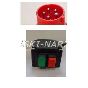 Wyłącznik zanikonapięciowy 3-fazowy, cewka 230V, AC3-3kW, Ie 13,5A, IP54, 20P0004, typ. KLKSW23..1