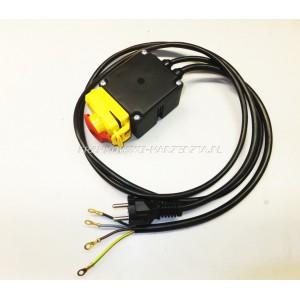 Wyłącznik zanikonapięciowy cewka 230V, AC3-3kW, Ie 13,5A, IP54, z przewodami, 20P2063, typ. KLKSW23..1