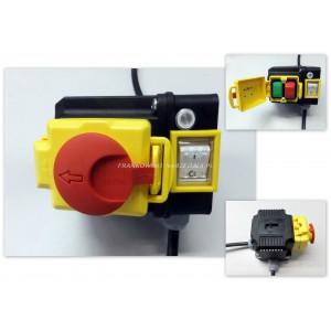 Wyłącznik zanikonapięciowy, klapka stop, do wiertarki WS-15, cewka 400V, IP54, z wtyczką 3P+Z, 20P2069, typ. KLKDD40.H1
