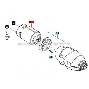 Bosch silnik do GDR 10,8 V-LI, indeks- 2609199140