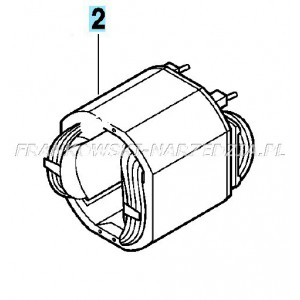 Bosch STOJAN PBH 300, GBH 4, GBH 2-26, GBH 2400, GBH 2600, GBH 3-28, GBH 3000, GBH 4-28 DFR, indeks- 1614220117