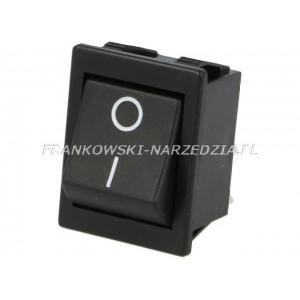 Wyłącznik klawiszowy C1551AL, 1-pozycja, łączenie OFF-ON, wym, 22x31mm, 16A /250V, do kosiarek
