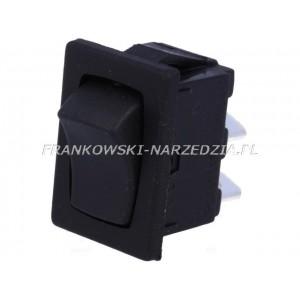 Wyłącznik klawiszowy OFF-ON, typ 8601VB , jedna pozycja, bez pamięci, wym. otworu 19.3x12,9mm, 10A /250V