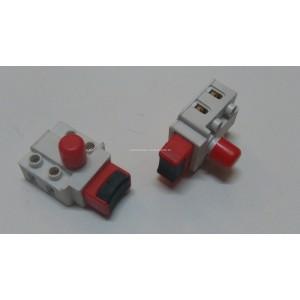 Wyłącznik mieszarki, pilarki FA6-8/2B9, 8A/250V, klawisz 11x20mm