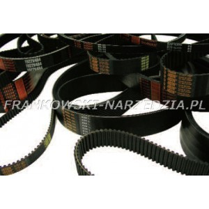 Pasek napędowy T5-630-12, SZER.12mm Z-126, L-630mm, PU - poliuretanowy wzmocniony kord stalowy