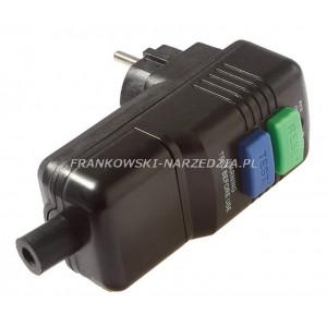 Wyłącznik różnicowoprądowy PRCD o prądzie znamionowym 30mA, IP 44, wyłącznik bezpieczeństwa RCD z wtyczką