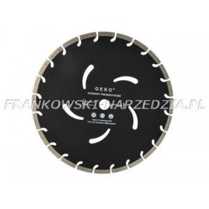 Tarcz diamentowa 350/25,4mm Czarna 350x10X25,4mm Beton, kostka