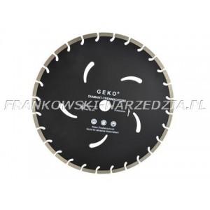 Tarcz diamentowa 400mm segmentowa, czarna 400x10X32mm Beton, kostka