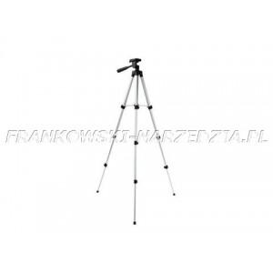 """Statyw - stojak lasera krzyżowego lub fotograficzny, gwint 1/4"""", wysokość 35-105cm"""
