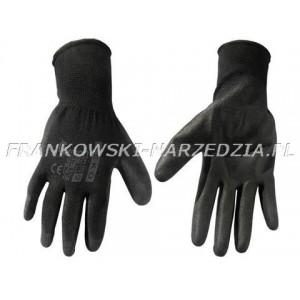 BHP - Rękawice ochronne GEKON rozmiar 10 czarne