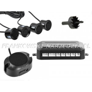 Czujnik parkowania - cofania, Buzzer + 4 sensory