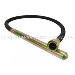 Buława do wibratora, fi 35mm długość 2m, napęd linki 6-kąt 8mm, pasuje do WG-527
