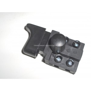 Wyłącznik szlifierka FA5-8/2MD, 8A/250V, klawisz 13X28mm, blokada przed załączeniem