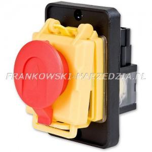 Wyłącznik zanikonapięciowy 230V / 13.5A / 3kW , Tripus, 20P0400, cewka 230V, klapka STOP, zamiennik Kedu KJD17B-4
