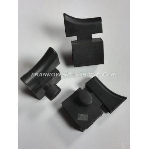 Wyłącznik szlifierki FA2-8/2BD, 8A 250V, klawisz wyłącznika 12x39,5mm, klawisz blokady owalny