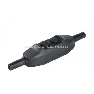 Wyłącznik różnicowoprądowy 16A/230v o prądzie wyzwalającym 30mA przelotowy na przewód IP55