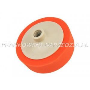 Gąbka polerska pomarańczowa 150mm x 45mm M14 uniwersalna
