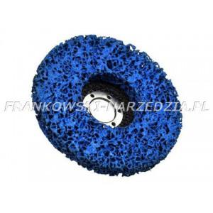 Tarcza włóknina ścierna niebieska 125 x 22,2mm