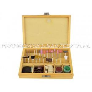 Zestaw akcesoriów do muliszlifierki (mini drilla) 100 elementów