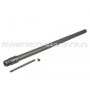 SDS-MAX Adapter długości 160mm gwint M22 do koronek, otwornic do betonu