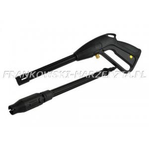 MYJKA - Pistolet z lancą do myjki wysokociśnieniowej, wyposażony w dyszę szczelinową, gwint M14, 15L/MIN, MAX15MpA/60stop