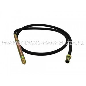 Buława do wibratora, fi 38mm długość 4m, napęd linki 6-kąt 8mm, pasuje do WG-547