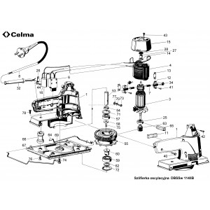 CELMA DBSSw 114 IIB, STOJAN, indeks: C-32430