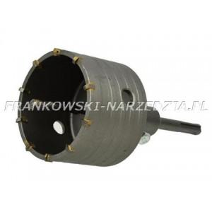 SDS-PLUS Otwornica do betonu 80mm kompletna, Frez do betonu