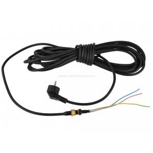 Przewód zasilający do pompy z rozdrabniaczem, długość 9m, dławica z nakrętką fi-20mm
