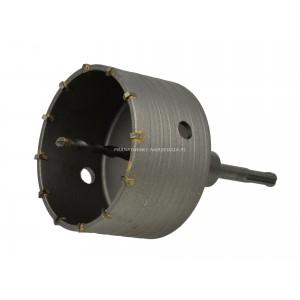 SDS-PLUS Otwornica do betonu 100mm kompletna, Frez do betonu