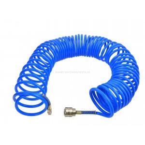 Wąż pneumatyczny spiralny 10m PU 8x12mm