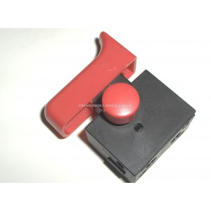 Wyłącznik szlifierki FA2-8/2BD , 8 A 250V, klawisz wyłącznika 14x43mm