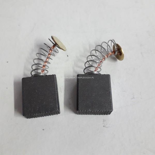"""Szczotki węglowe 7x15x17 (1kpl.) RUBI, sprężynka fi-8mm, blaszka """"O"""""""
