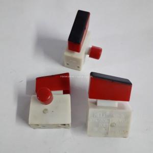 Wyłącznik szlifierki KP-D, 6 A 250V, klawisz wyłącznika 12x32mm
