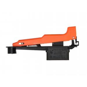 Wyłącznik szlifierki FA4-10/2DB, lub FA4-10/2B ala Bosch, klawisz 16x117mm