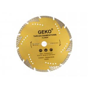 "Tarcz diamentowa 230mm segmentowa ""flower"" GEKO PROFI, 230x22,2mm"