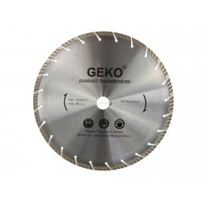 Tarcz diamentowa 350mm segmentowa, szara-laser 350x32mm