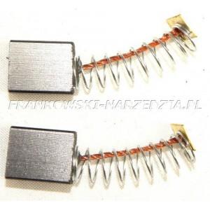 Szczotki węglowe 6,5x11x14 dwa rowki (1kpl) mieszarka, pilarka