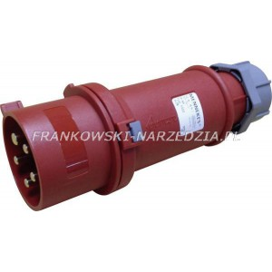 Wtyczka 32A - 6h, 5p, 400V, IP44, 2-częściowa z zwrotnicą - inwerterem faz, siłowa typ 3322 MENNEKES