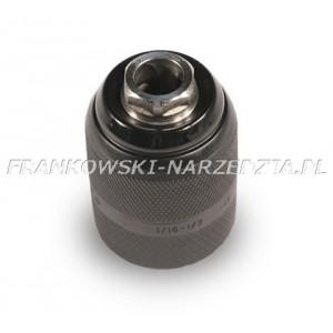 Uchwyt wiertarski gwint 1/2-20 samozaciskowy 13mm, widiowe wkładki szczęk, metalowy-zatrzask, ARC