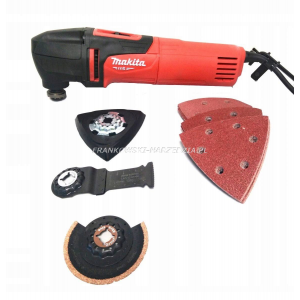 Makita MT M9800X2 narzędzie wielofunkcyjne multitool 220W z akcesoriami