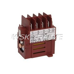 Wyłącznik zanikonapięciowy - przekaźnik BR01, 305.431, Tripus 60P0228, cewka 400V, 3-zwierne 1-rozwierny, za KEDU, JD3-2, JD4